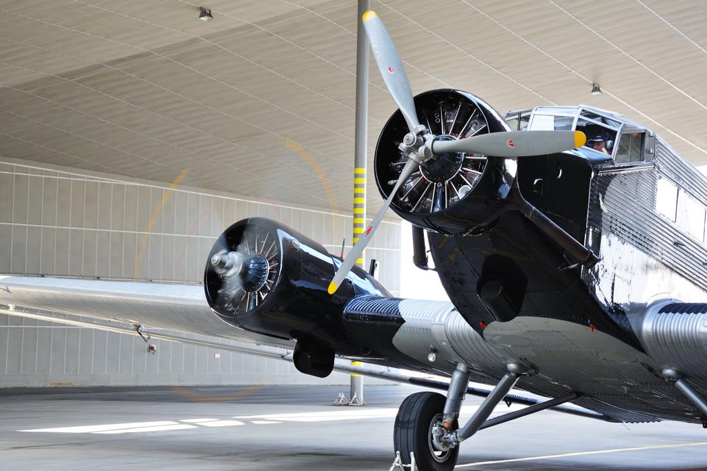 Ju 52 Standlauf