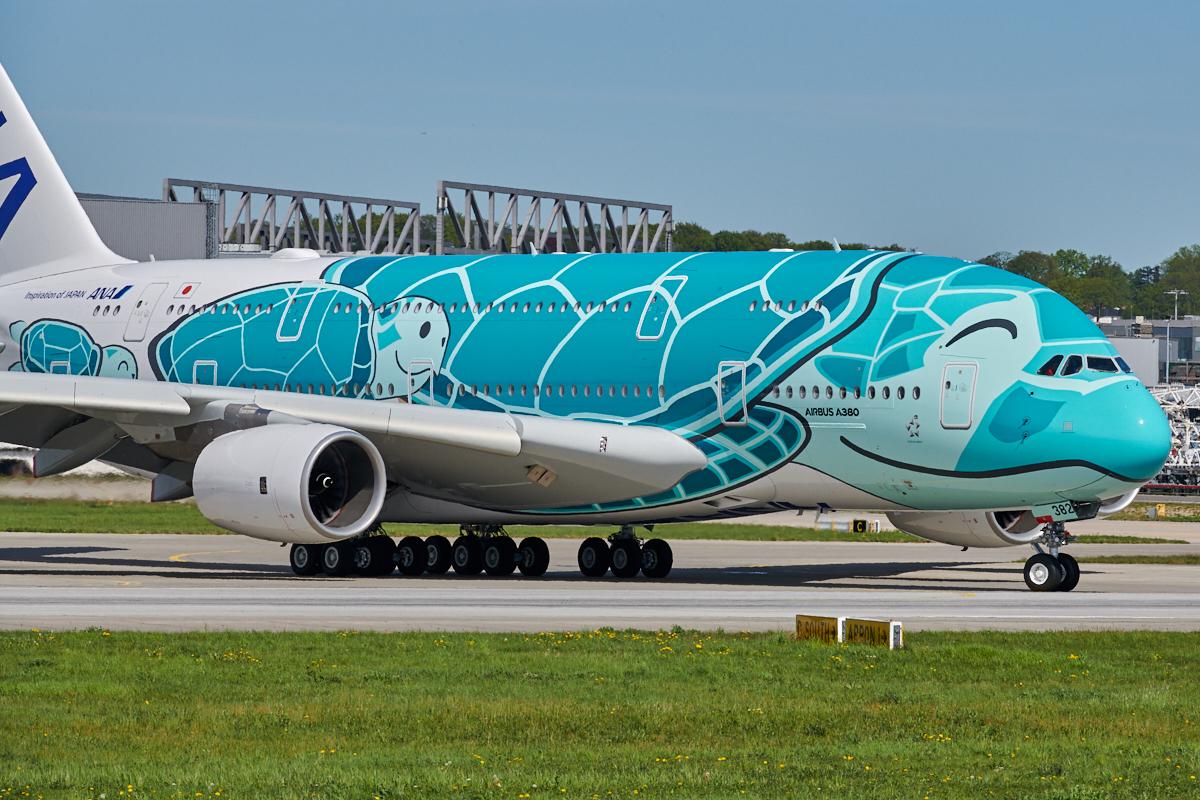 ANA A380 die Zweite