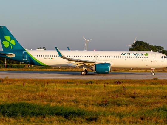 1st A321NX/LR for Aer Lingus