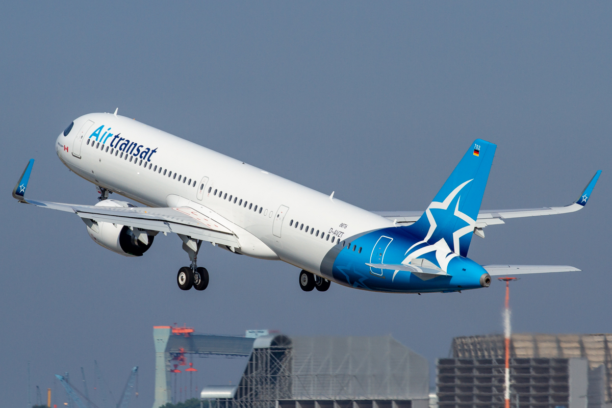 2nd A321NX for Air Transat