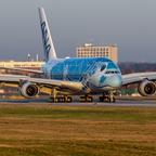 first ANA A380 , MSN 262 , JA381A